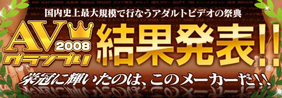 AVグランプリ2008 結果発表!!