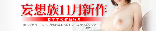 妄想族11月発売商品