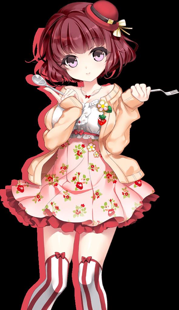 苺和香菜 イラスト:おとぎ遊戯
