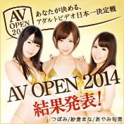 AV OPEN 2014 結果発表