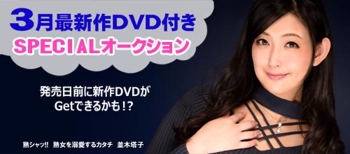 2月最新作DVD付き!スペシャルオークション