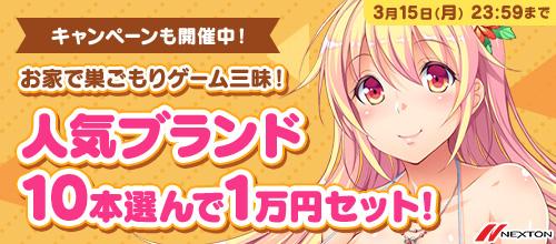【まとめ買い】お家で巣ごもりゲーム三昧!人気ブランド10本選んで1万円セット!