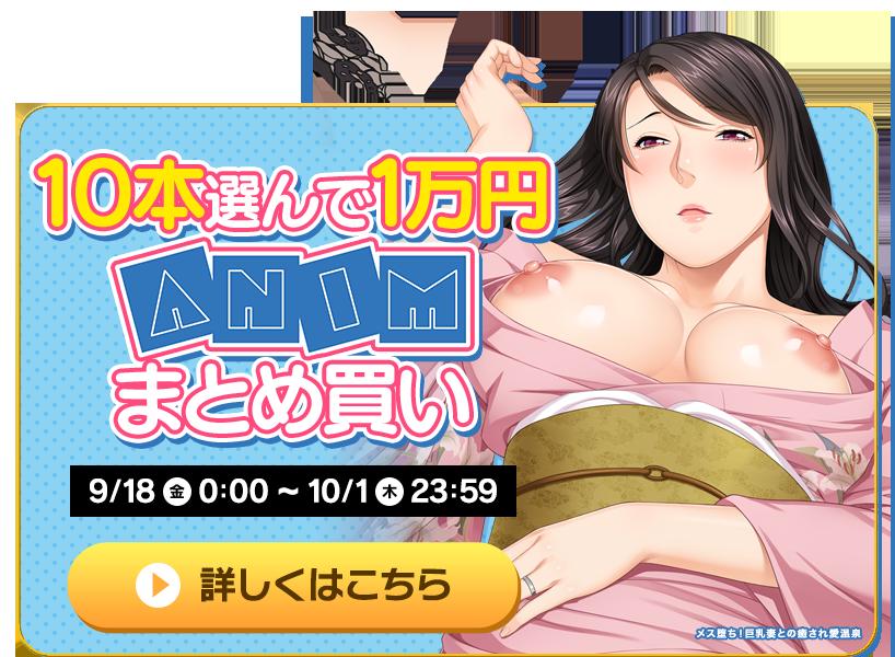 10本選んで1万円Animまとめ買い