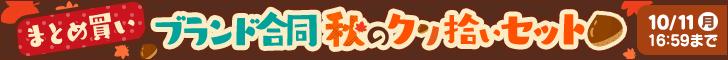 【まとめ買い】ブランド合同秋のクリ拾いセット!10/11 16:59まで