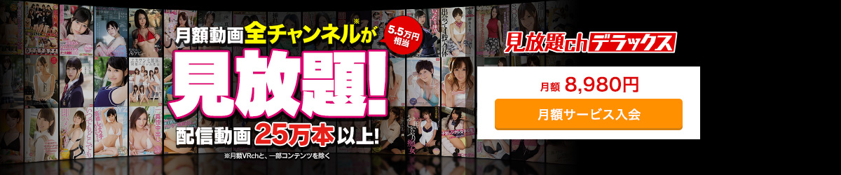 見放題chプレミアム(8,980円→4,490)
