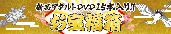 超お得!!新品DVD15本入りお宝福箱!